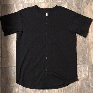 American Apparel Baseball Shirt